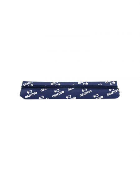 stojo slim produzido em material poliester 600 azul marinho com gravação em todo corpo
