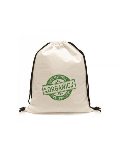 esta é uma mochila em lona cru