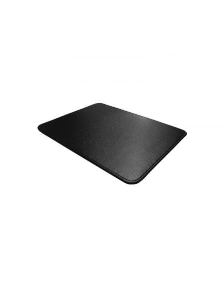 porta mouse pad visao superior produzido em sintetico preto