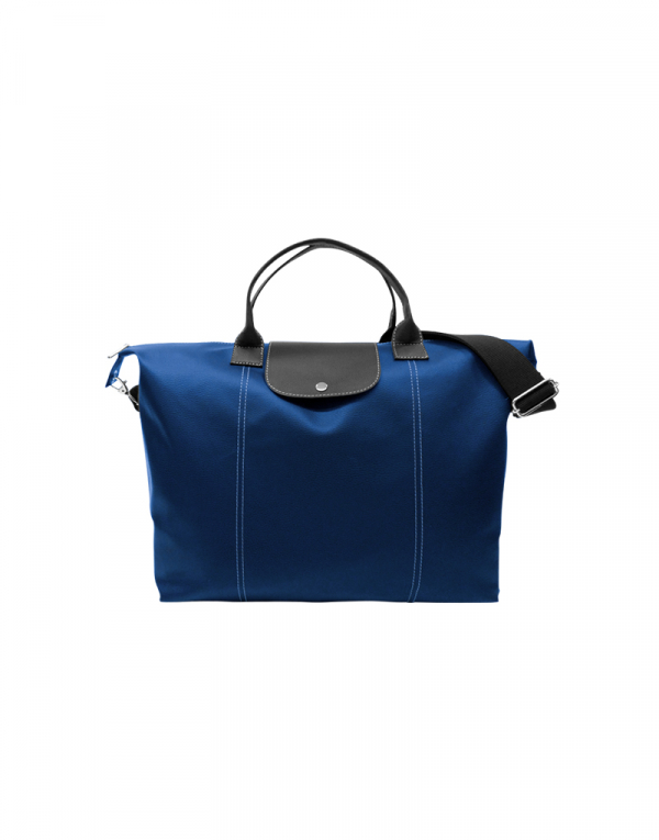 Bolsa Zani em poliéster prada azul e sintético azul