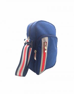 Bag Max é uma bolsa pequena que pode ser usada nas costas ou na frente com alça transversal