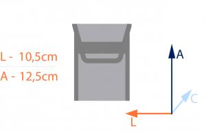 medidas do porta lenço